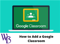How to Add Google Classroom