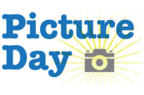 Picture Day wording with camera image