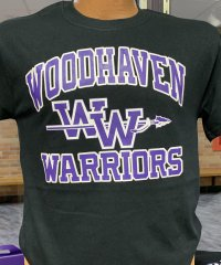Woodhaven Warriors T-shirt - Black