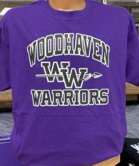 Woodhaven Warriors T-shirt - Purple