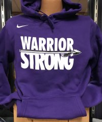 Nike Purple Warrior Strong Hoodie